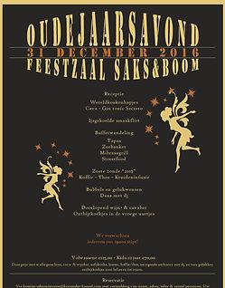 Feestzaal Saksenboom - Oudejaarsavond 2016