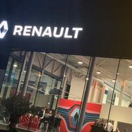 Renault I Opening garage Saba