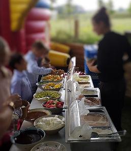 Ijsbuffet feestzaal Saksenboom