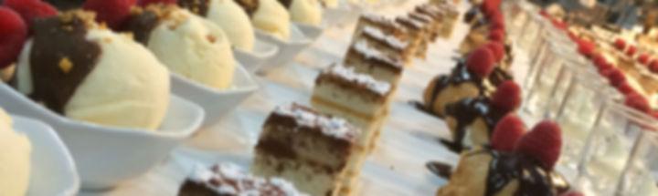 Feestzaal Sakseboom: huisgemaakte desserts