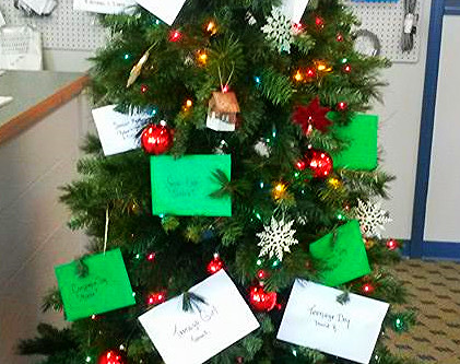 Christmas Wishing Tree: The Great Impact