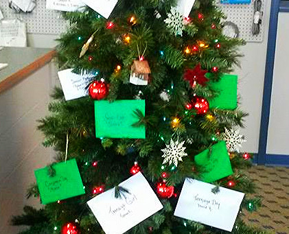 Christmas Wishing Tree: The Great Impact