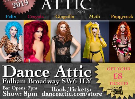 Aidan Orange Presents: Queens at the Attic