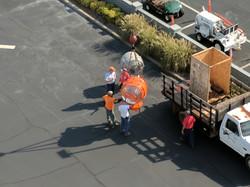 Unloading Beacon @ GVL Downtown AP