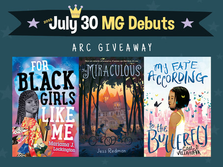 #July30MGDebuts ARC Giveaway