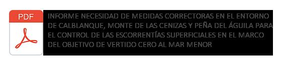 Enlace Informe Completo Hidrología Superficial Mar Menor