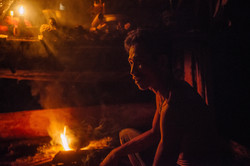 Sumatra, Indonesia: Stories by the firelight,