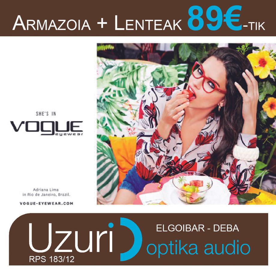 ARMAZIOA + LENTEAK 89€-TIK