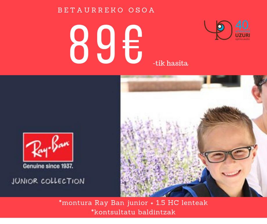 Ray Ban junior graduado desde 89€