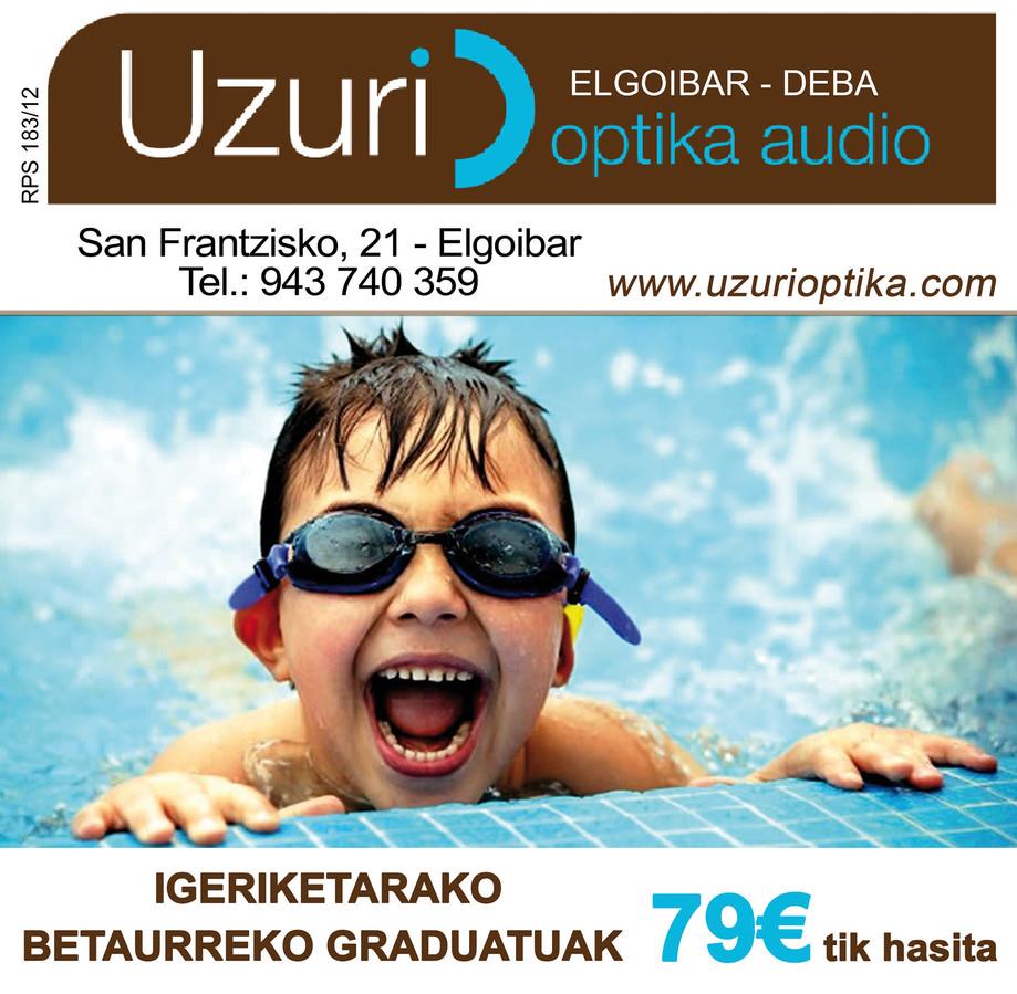 Gafas de natación graduadas 79€