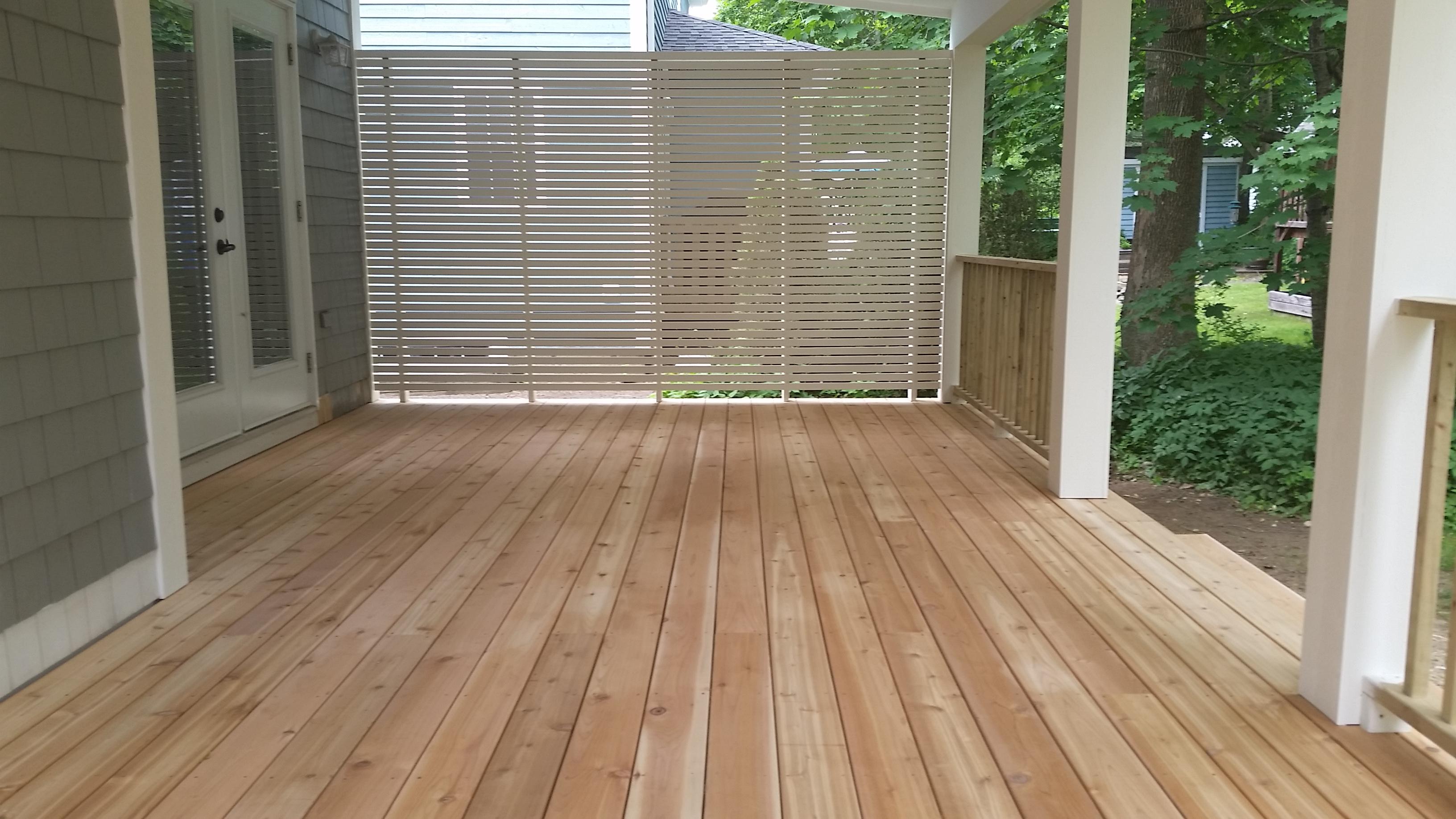 Cedar Deck Custom