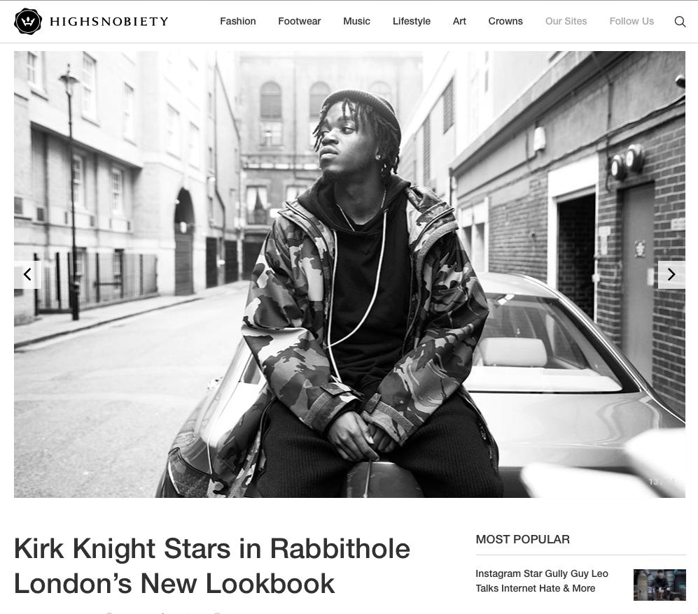 Kirk Knight + Rabbithole for Highsno