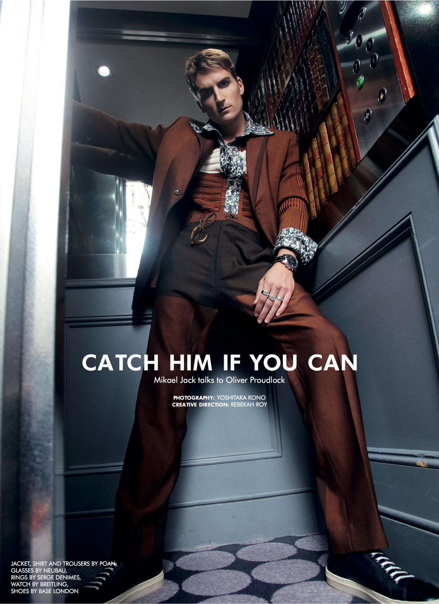 Oliver Proudlock for Candid Magazine