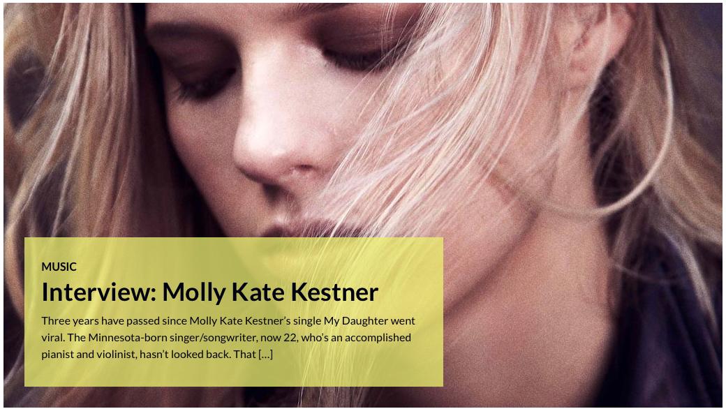 Molly Kate Kestner