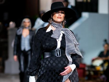 Grávidas e modelos plus size roubam a cena no New York Fashion Week