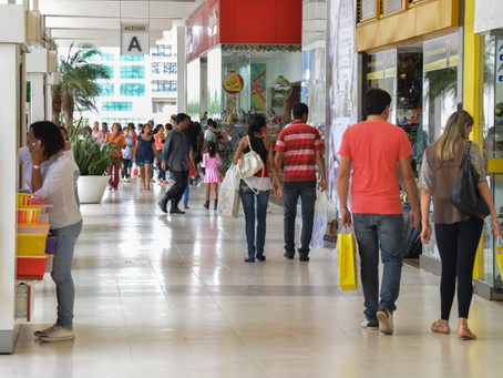 Vendas no comércio devem crescer 0,66% no terceiro trimestre