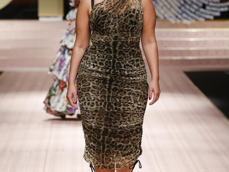 Animal Print, modelos plus size e outras trends do desfile da Dolce & Gabbana em Milão