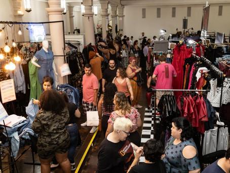 Dias 7 e 8 de setembro tem feira de moda plus size Pop Plus Primavera Verão no Club Homs na Avenida