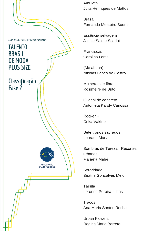 Associação Brasil Plus Size divulga lista de classificados do Concurso Talento Brasil