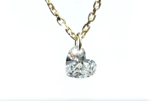 Diamante talla corazón 0,33 ct