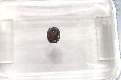 Fancy Dark Pinkish Brown 0,15ct Oval shape