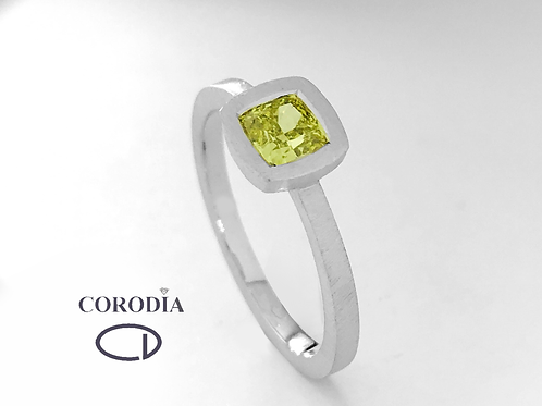 Fancy Deep Yellow 0,53 ct