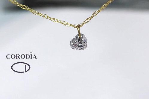 Diamante talla corazón 0,15 ct