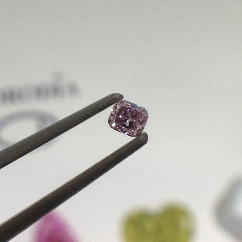 Fancy Pink Radiant Cut Diamond   (3073)