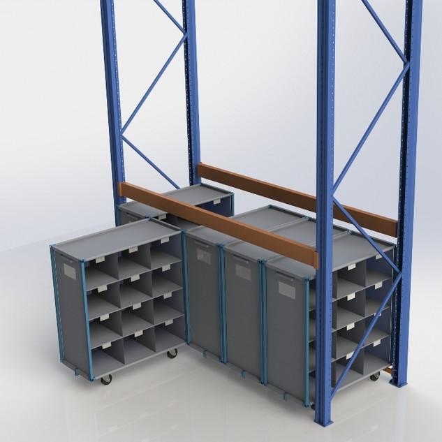 выдвижные шкафы FLEXIBOX(наша разработка)