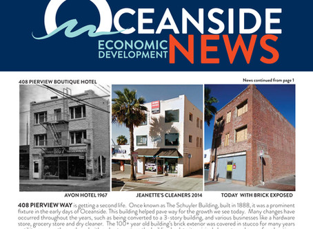 Oceanside Economic Development News feature