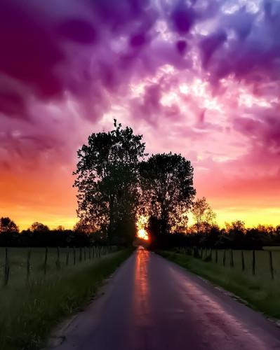 un des premiers lever de soleil pris en photo