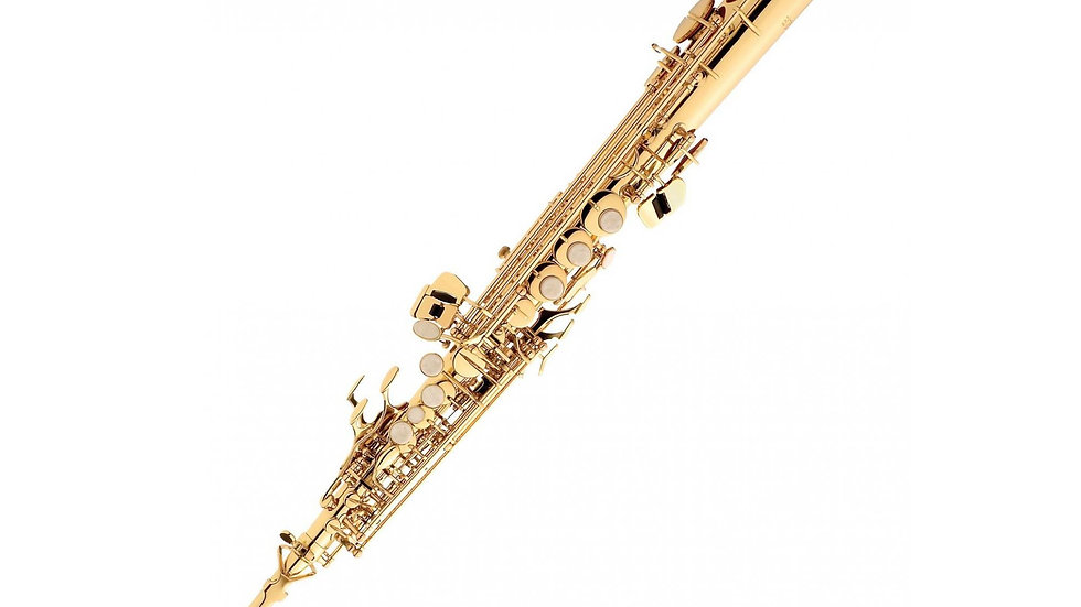 Sax Soprano Eagle SP502 Sib. Laqueado