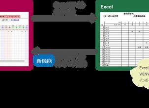 新機能|Excelインポート機能