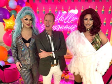 With Carson Kressley