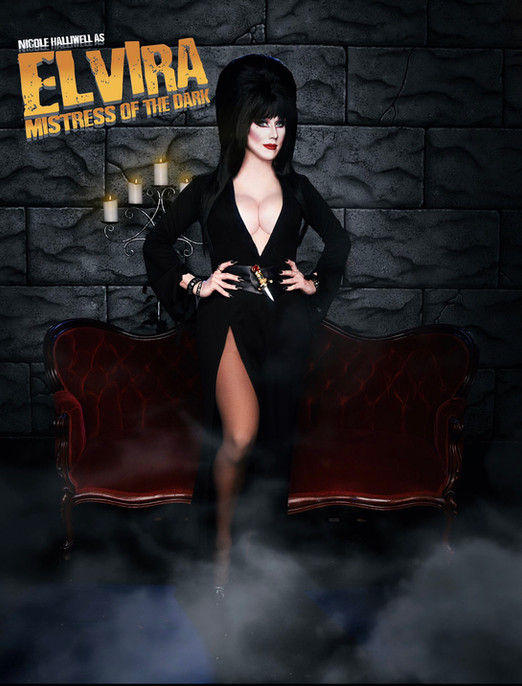 As Elvira, Mistress of the Dark