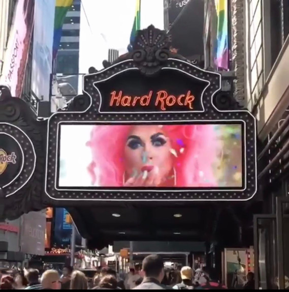 Hard Rock Marquee, Times Square NY