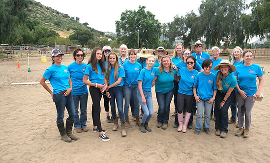 Partners Therapeutic Horsemanship volunteers