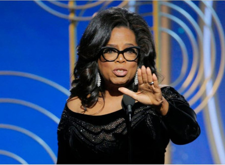 """Queen Mother, Oprah Lights Fire with Speech and Declares that """"Time Is Up""""!"""