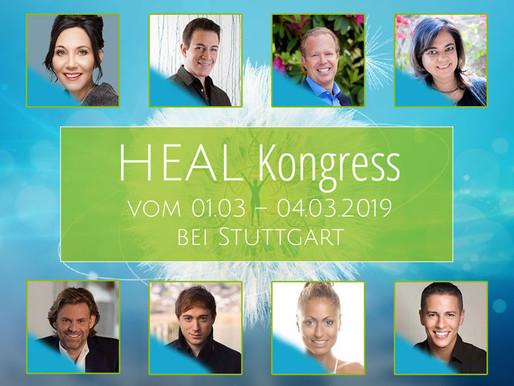 Heal Kongress - 2. bis 3. März 2019 - weil wir gemacht sind, um heil zu sein
