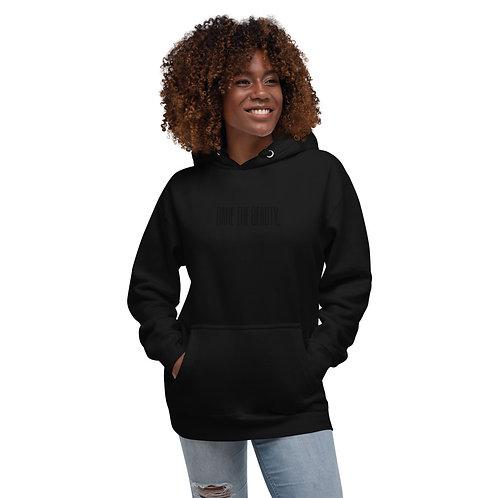 Unisex Hoodie Black on Black