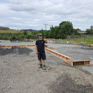 Flynn Plumbing new build underslab in Waiuku