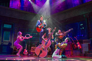 MILLION DOLLAR QUARTET Production Photo