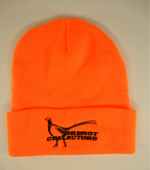 Breast Collectors Pheasant Stocking Hat is blaze orange helping you to be  warm and visible while hunting. b0c9e1e17db