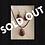 Thumbnail: Orgonite Set Earrings/Necklace Silver