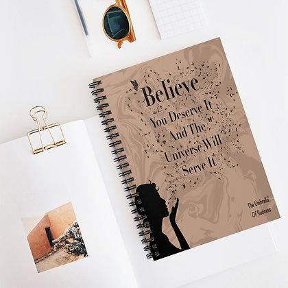 Mystical Spiral Notebook - Ruled Line