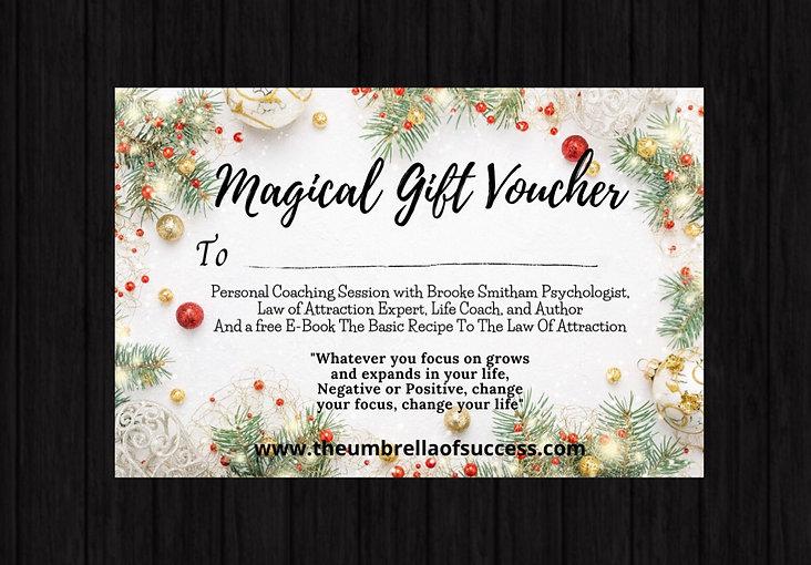 Magical Gift Voucher