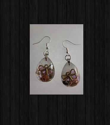 Orgonite Earrings 925 silver