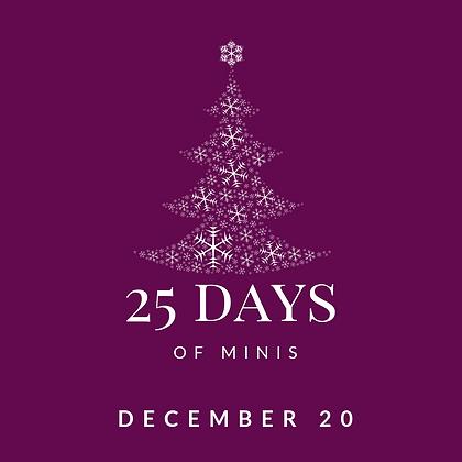 Dec 20 - 25 Days of Minis