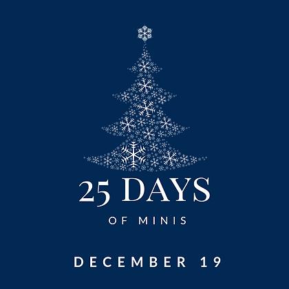 Dec 19 - 25 Days of Minis