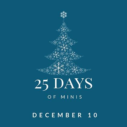Dec 10 - 25 Days of Minis